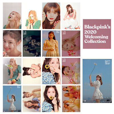 16pcs Set BLACKPINK Lomo Card 2020 Welcoming Collection Collective Photocard