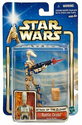 Stars Wars Attack of the Clones Battle Droid Arena Battle Action Figure