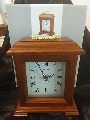 Seiko Mantle  Clock Excellent Working Condition.