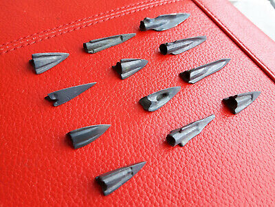 Ancient Bronze Arrowheads 12pcs_1