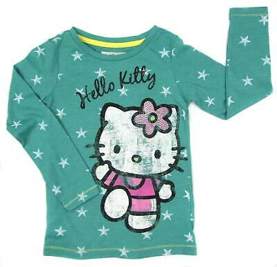 Hello Kitty Long Sleeve Top LAST FEW SALE PRICE Age 13 Only Distressed Look Top