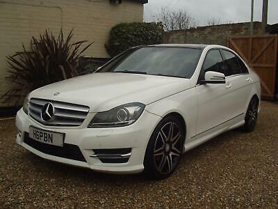 2012 MERCEDES C220 2.1CDi BLUEEFFICIENCY (PANORAMIC ROOF) AMG SPORT PLUS 7G