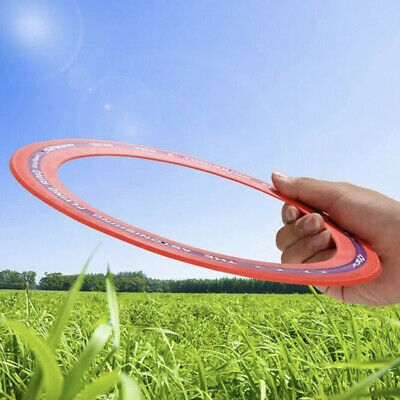 Fun 10 Inch Sprint Ring Outdoor Flying Disc Toy Kid's Flying Rings Fly Straight