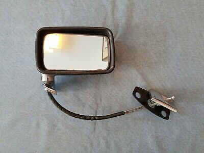 New Jaguar Xj Series 2 Series 3 Rh Door Mirror With Adjuster Cable And Gasket