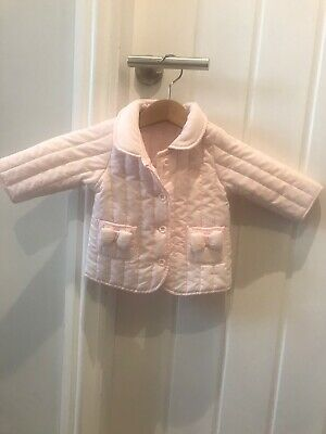 United Colours Of Benetton Baby Girls Pink Coat 1-3 Months