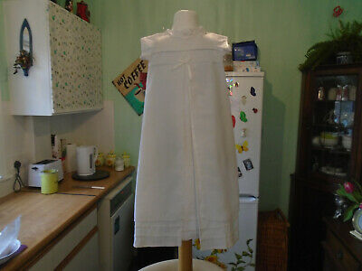 Vintage Long Childs  Christening Gown  Newborn