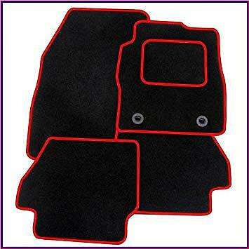 Toyota Celica 1999-2006 Fully Tailored Black Rubber Boot Mat With Black Binding