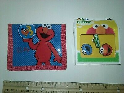 Sesame Street Crocs Charms New in the box  and an ELmo kid's Wallet