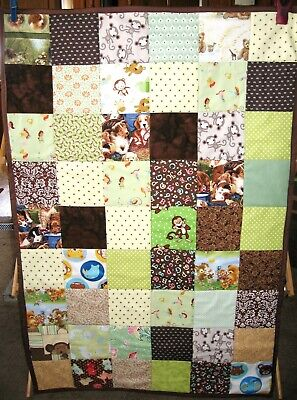 """I SPY""  Quilt - Infant/Baby - Crib/Carriage - Handmade"