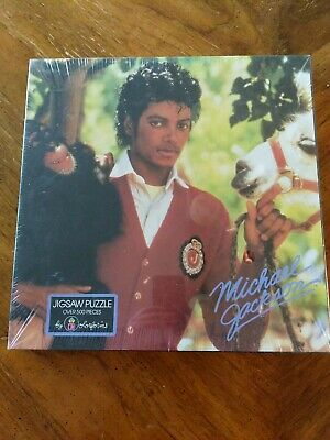 Sealed MICHAEL JACKSON And Friends 500 Pc Jigsaw Puzzle COLORFORMS 1984