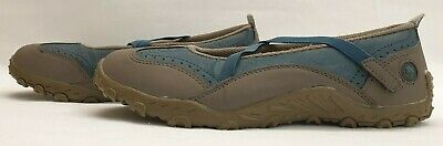 COTTON TRADERS ladies womens Shoes Size UK 7 EU 41 Navy Mary Jane Comfort Shoes