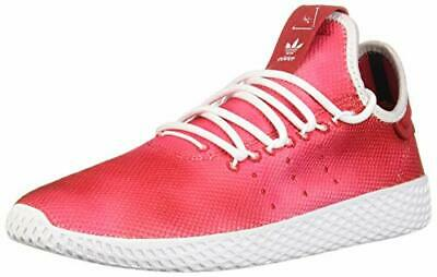 Kids Adidas Girls pw Low Top Lace Up, Scarlet/White/White,  Size Big Kid 5.0