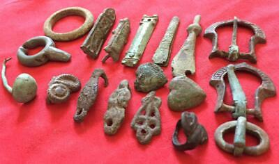 Viking ancient artifacts mix pegan authentic  6-12  century AD detect  finds