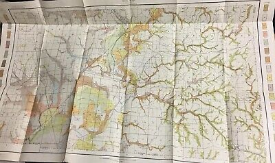 Original 1906 Map Indiana Greene County Soil Survey Agriculture Department