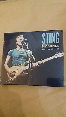 STING MY SONGS SPECIAL EDITION 2-CD (Released November 8th 2019)