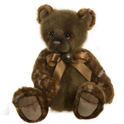 "Waffle, a 15"" Bear from the Charlie Bears Secret Collection"