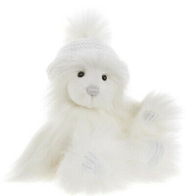 "Snow, an 8"" Bear from the Charlie Bears Secret Collection"