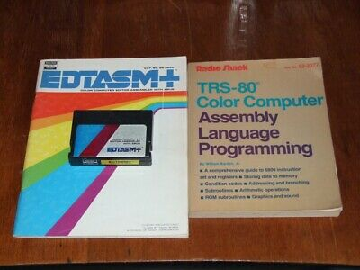 EDTASM+ assembler cartridge for the Tandy TRS-80 Color Comptuer 1 2 3 Coco