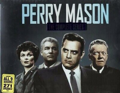 Perry Mason Complete Series 72  DVD  Gift Box Set Brand New Free Shipping