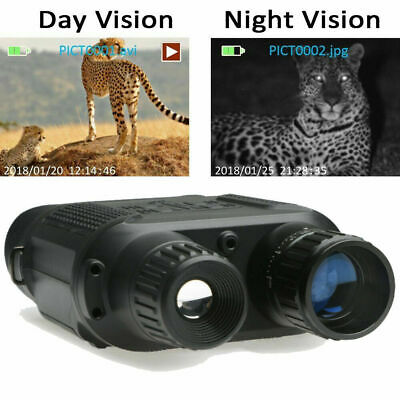 HD Digital Night Vision CAMERA Infrared Hunting Binoculars Scope IR Video Zoom