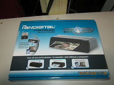 PANSCN01 PhotoLink Mini Scanner 6-in-1 Card Reader 300 dp Black