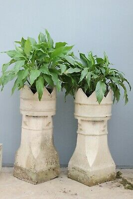 Antique Chimney pots.