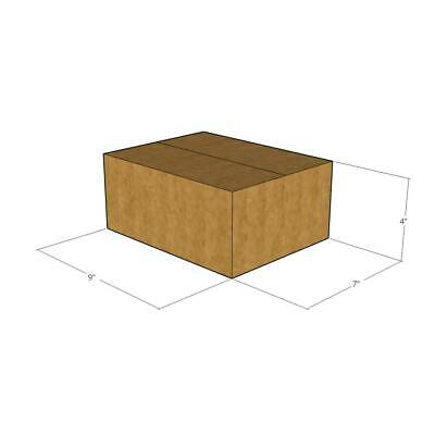 25 - 9 x 7 x 4 - 32 ECT New Corrugated Boxes