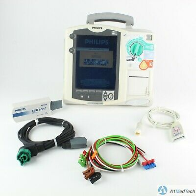 Philips HeartStart MRx Defib with 12 Lead ECG, AED, Pacing & Battery