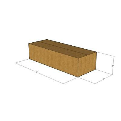 25 - 16 x 6 x 4 - 32 ECT New Corrugated Boxes