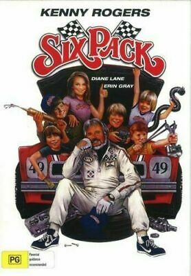 Six Pack DVD Kenny Rogers New and Sealed Plays Worldwide NTSC 0