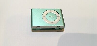Apple iPod shuffle 2nd Generation Green Not Tested No Charger