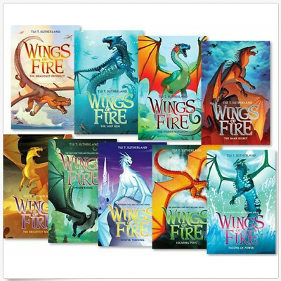 Wings of Fire 1-12 Books Set Collection By Tui T. Sutherland