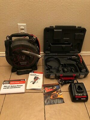 Ridgid See Snake Micro Reel with CA-350 Drain Sewer Inspection Camera Kit