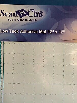 Brother CAMATP12 ScanNCut Low Tack Adhesive Mat 12 x 12 inch