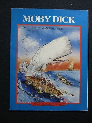 Moby Dick (Troll Illustrated Classics) [Paperback] [Jan 01, 1990] Gary Gianni ..
