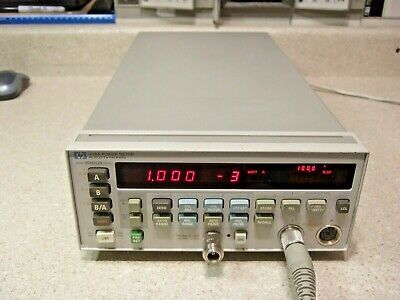 #1526 HP 438A Dual Channel Power Meter - Refurbished! Tested! In Cal!