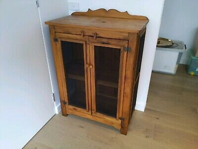 Antique look Meat Safe Baltic Pine 30 Yrs Old