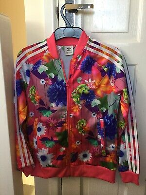 Girls Adidas Tracksuit Top Age 11/12