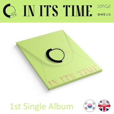 [NEW + SEALED!] ONEUS In Its Time 1st Single Album Kpop K-pop UK