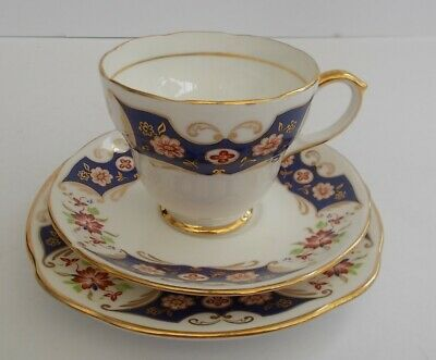 Vintage Stylish Duchess Sheraton Bone China English China Cup,Saucer,Plate,Trio