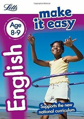 English Age 8-9 (Letts Make It Easy), Letts KS2, New Book