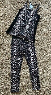 Gorgeous Girls 2 Piece Outfit Active fit Gym Wear Age 10-11 Years ⭐️New⭐️