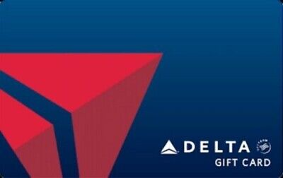 Delta Airlines Electronic Gift Card - ($250) Fast Delivery (Read description)