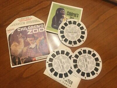 VIEW MASTER  3 Scheiben CHILDRENs ZOO