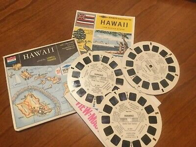 VIEW MASTER  3 Scheiben HAWAII