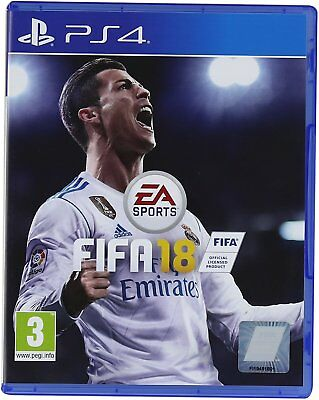 FIFA 18 PS4 Playstation 4 Excellent Condition Free Postage