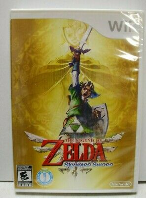 The Legend of Zelda: Skyward Sword (Nintendo Wii, 2011) Brand New. No soundtrack