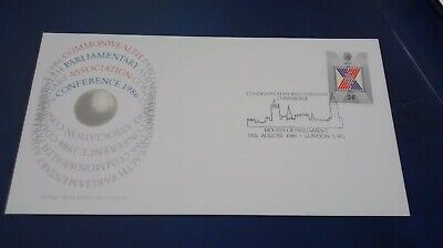COMMONWEALTH PARLIAMENTARY CONFERENCE 1986 First Day Cover