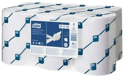 TORK enMotion Hand Towel Roll Continuous 2-Ply 150m White Ref 471110 [Pack 6] -