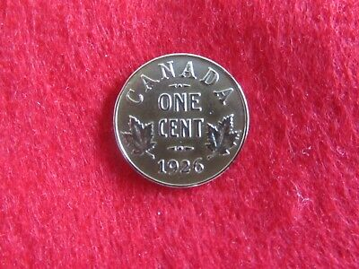 ** Canada   1926  **   One  Cent   Super   Low   Mintage   Rare  &  Research ***